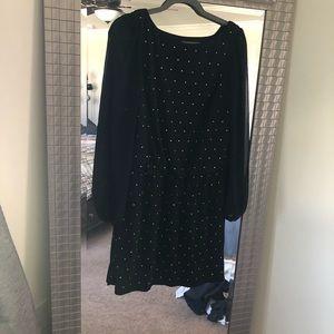 White House Black Market long sleeve dress